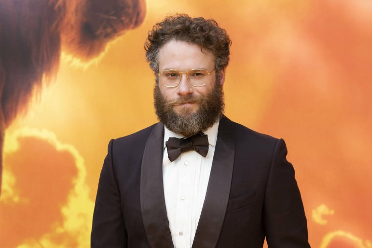 Image: Seth Rogen at The Lion King European premiere in London