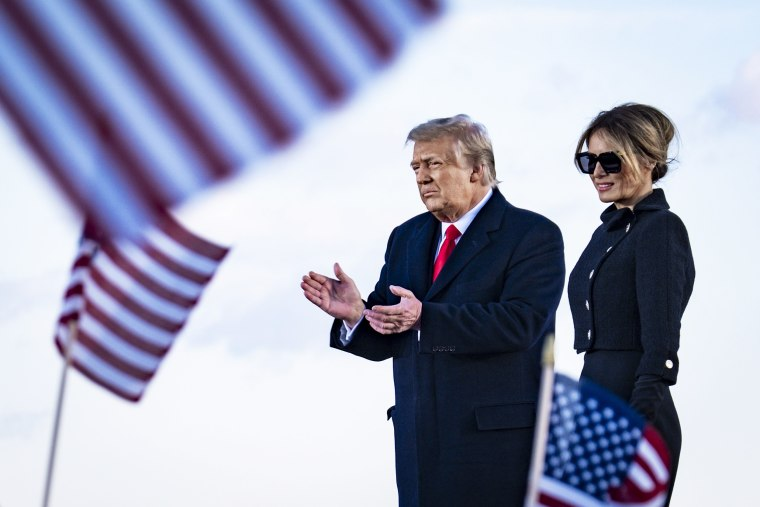 Image: President Trump Departs For Florida At The End Of His Presidency