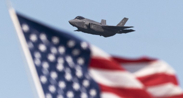 Image: Lockheed Martin F-35 Lightning stealth fighter
