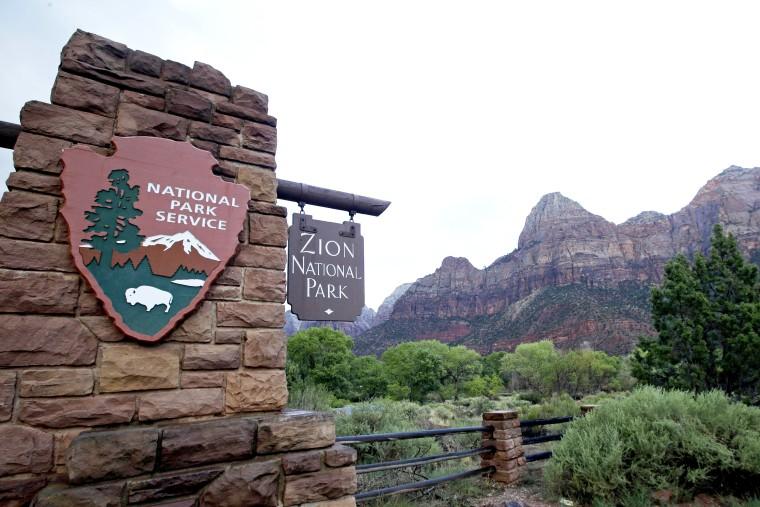 Image: Zion National Park in Springdale Utah