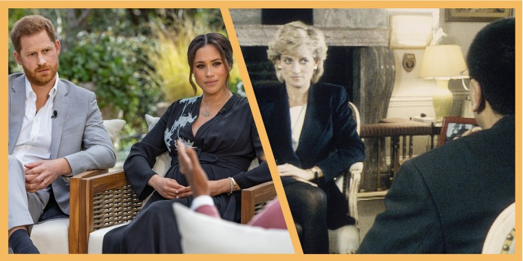 Oprah Winfrey's interview with the Duke and Duchess of Sussex called to mind Martin Bashir's interview with Princess Diana in 1995.