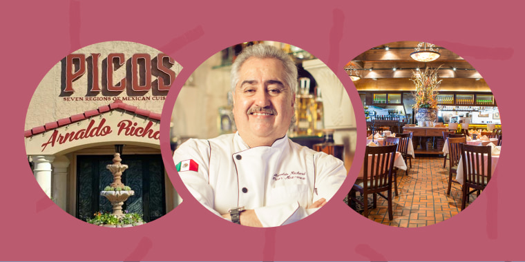 """Arnaldo Richards has been operating Pico's, a Mexican restaurant in Houston, for 37 years. He told TODAY that the coronavirus pandemic is """"the worst"""" crisis the restaurant has ever faced."""