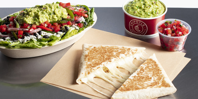 The latest addition to the permanent Chipotle menu: Hand-Crafted Quesadillas.