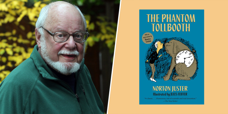 """Juster's """"The Phantom Tollbooth"""" was first published in 1961 and was later made into a movie and a musical."""