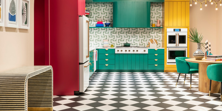 Coming out of the pandemic now, we're seeing bold statements and embrace of optimism in kitchen design, TK Wismer, a kitchen designer explained.
