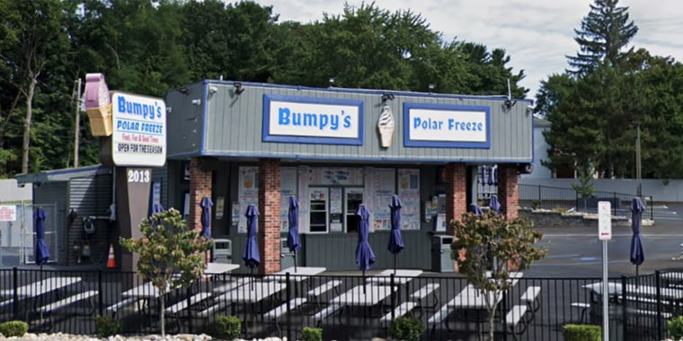 Bumpy's Polar Freeze in Schenectady, New York.