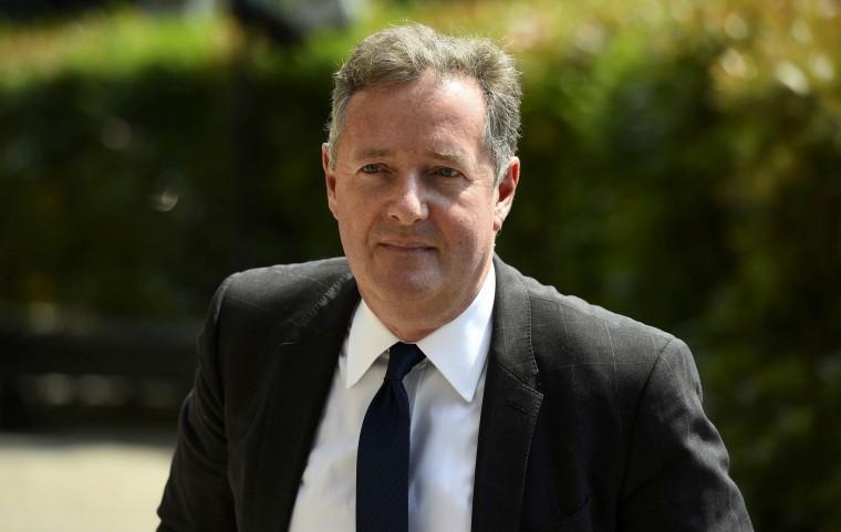 Image: Piers Morgan in 2018.