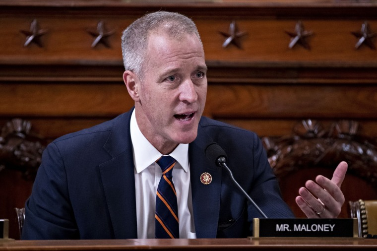 Image: Rep. Sean Patrick Maloney, D-N.Y., during an impeachment hearing at the Capitol