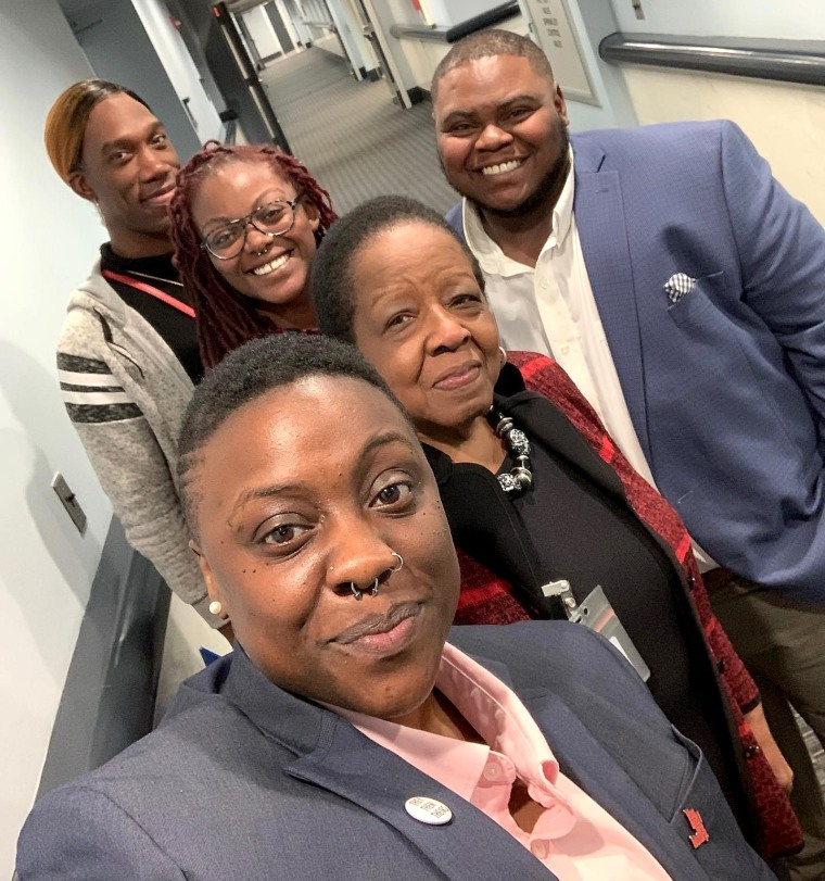 Directors of TKO with Alabama state Rep. Laura Hall.