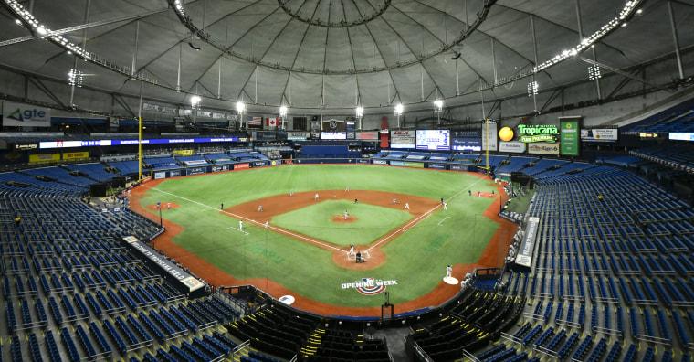 Image: Toronto Blue Jays v Tampa Bay Rays