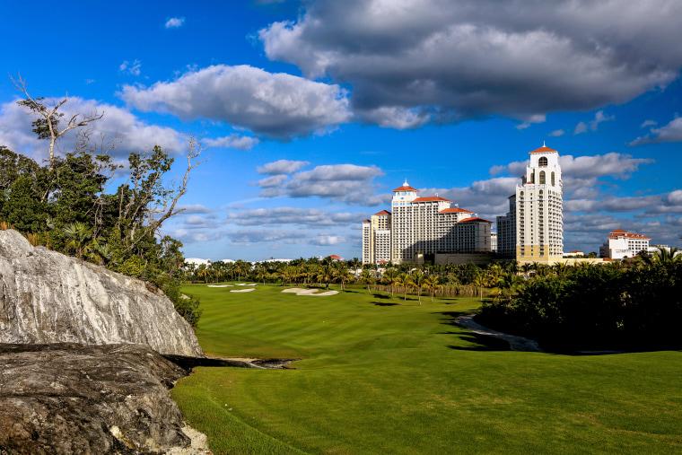 Royal Blue, The Golf Club at Baha Mar on Nov. 29, 2018 in Nassau, Bahamas.