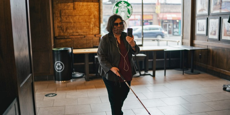 Starbucks now offers a third party app that connects people who are blind or visually impaired with agents who can help them access information, including the menu.