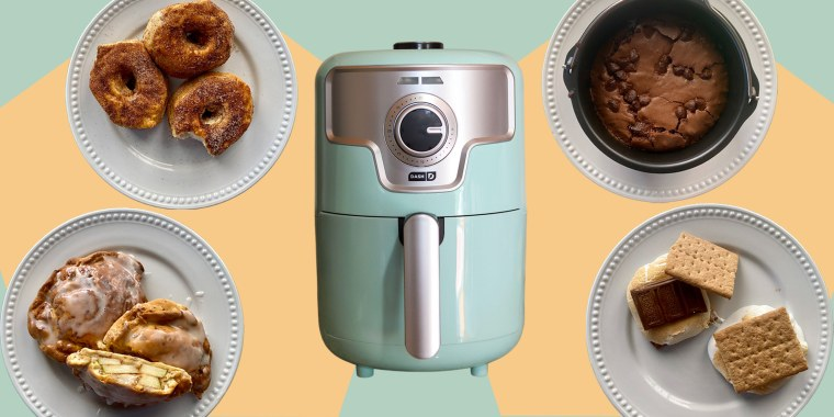 The air fryer allows you to satisfy your sweet tooth in a near instant.