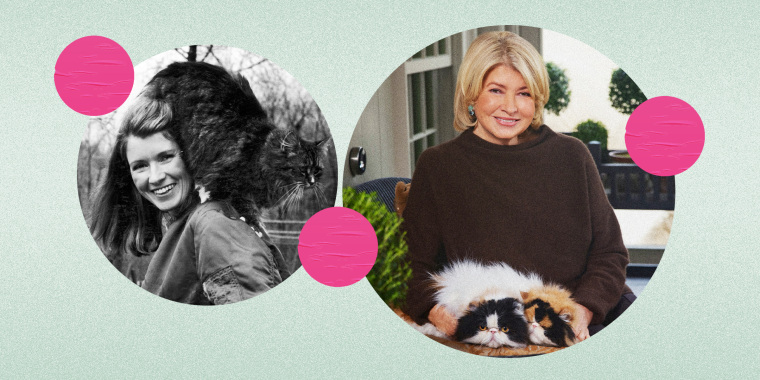 Martha Stewart is a longtime lover of cats and animals in general.
