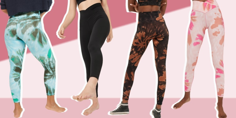 Illustration of OFFLINE Real Me High Waisted Crossover Legging that are popular on Tick Tok
