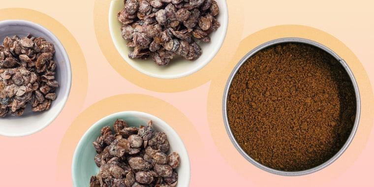 The dried seeds of the African locust bean go by many names, including dawadawa, iru, ogiri and sumbala.
