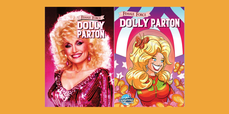 """Female Force: Dolly Parton"" will be released on March 31."