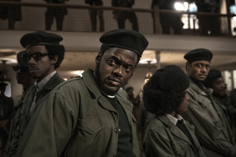 """Image: Daniel Kaluuya in a scene from \""""Judas and the Black Messiah.\"""""""