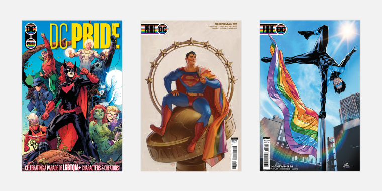 DC and Marvel are both to publish comics that celebrate LGBTQ characters.