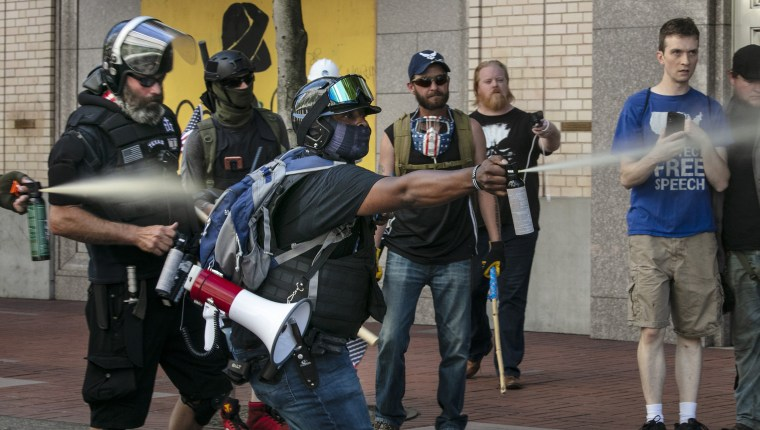 Unbearable pain: How bear spray became a prized weapon for violent protesters
