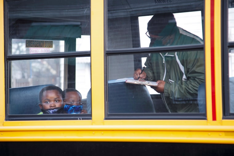 Image: Back to school day in Louisville