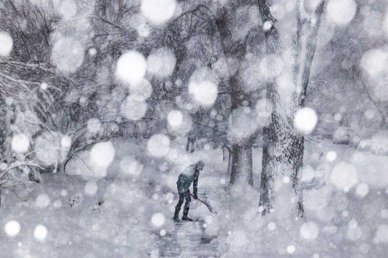 Image: *** BESTPIX *** Denver Braces For Massive Snow Storm