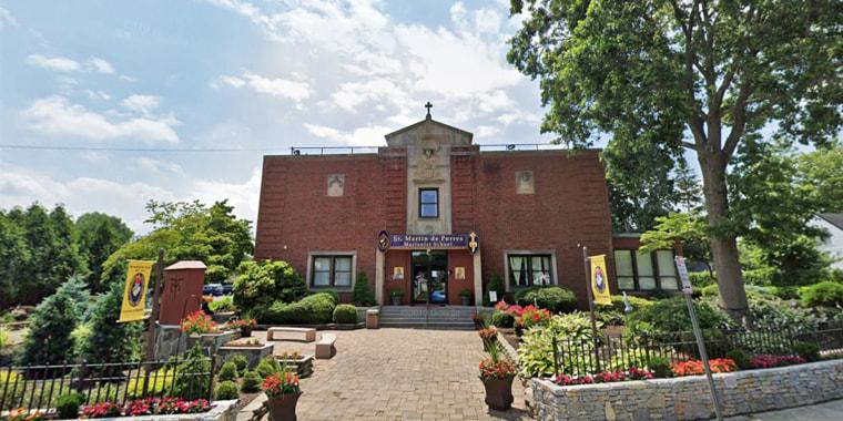 St. Martin de Porres Marianist School in Uniondale, New York.