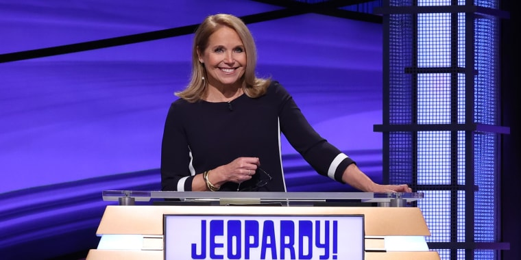 """Katie Couric's two-week run as guest host of """"Jeopardy!"""" ended last Friday."""