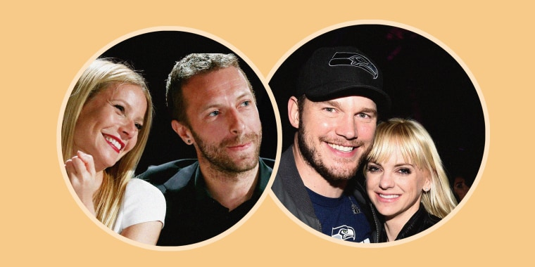 Gwyneth Paltrow,Chris Martin, Anna Faris, Chris Pratt