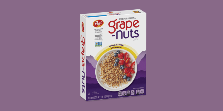 Post shared the happy news that the Grape-Nuts shortage is over.