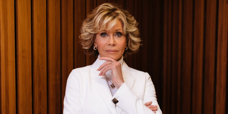 Jane Fonda talks about relationships and intimacy in a new magazine article.