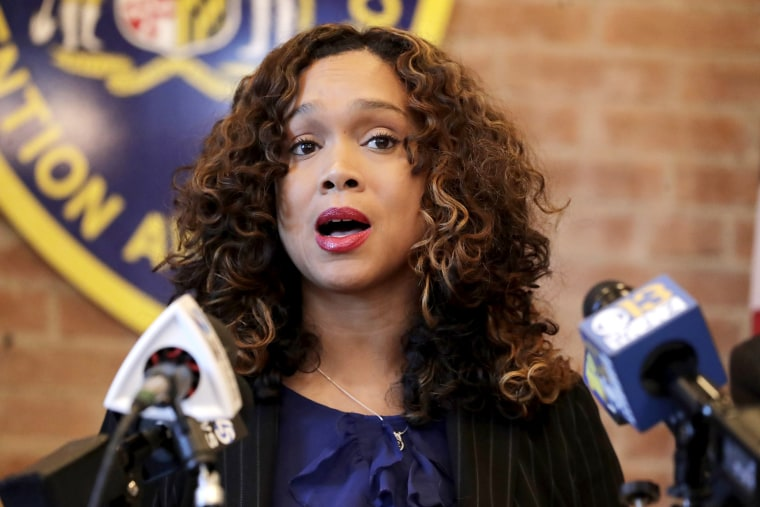 Image: State Attorney Marilyn Mosby  during a news conference in Maryland on Dec. 3, 2019.
