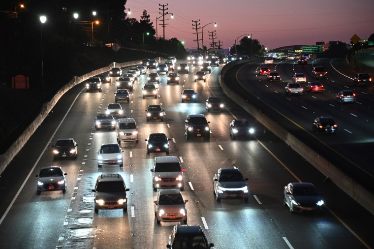 The 101 freeway in Los Angeles in 2019.