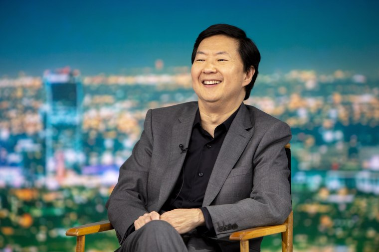 """Ken Jeong on NBC's \""""TODAY\"""" show on Feb. 21, 2019."""