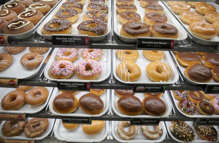 Image: Krispy Kreme donuts