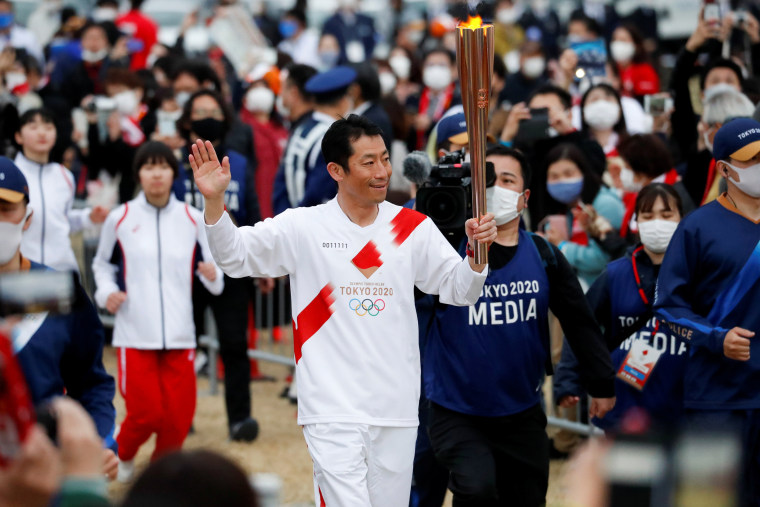 Image: Tokyo 2020 Olympic torch relay