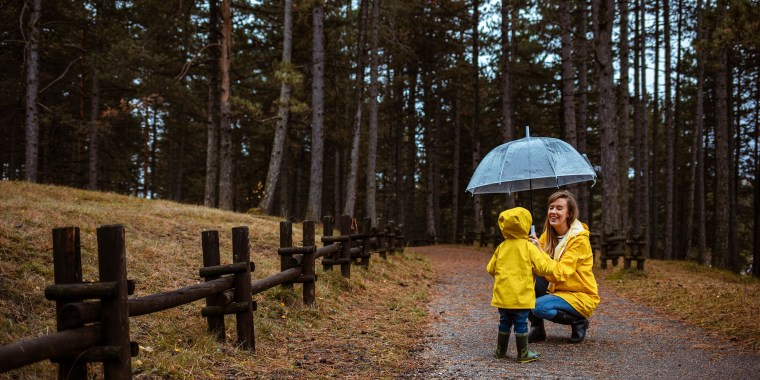 Mother and child, wearing yellow rain jackets and holding a clear umbrella, outside in a forest patThese are the 6 best umbrellas of 2021 to keep you dry all spring. Shop the best classic umbrellas, windproof umbrellas, reverse opening umbrellas and more.