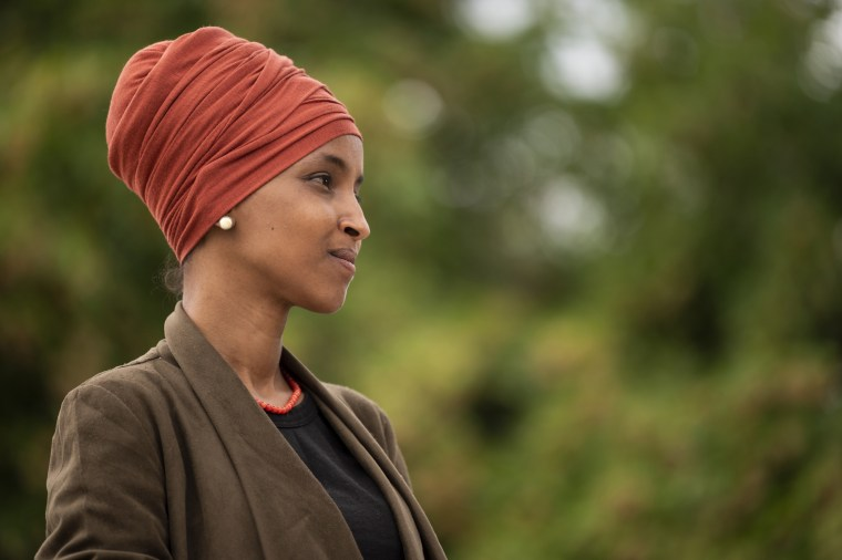 Image: Ilhan Omar Holds Press Conference