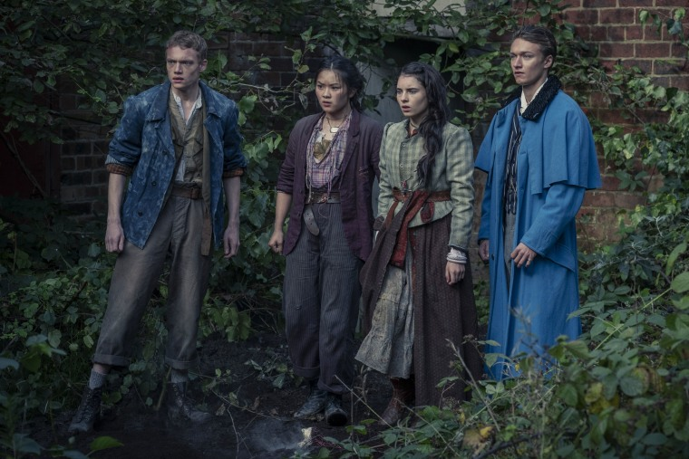 """A group of young heroes rise up as the next great detectives in Netflix's Sherlock Holmes inspired \""""The Irregulars\""""."""