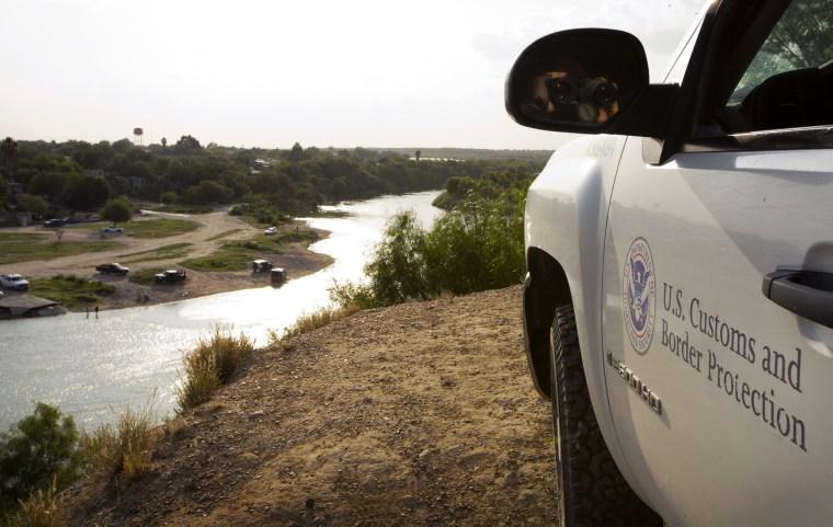 Image: Border in Roma, Texas