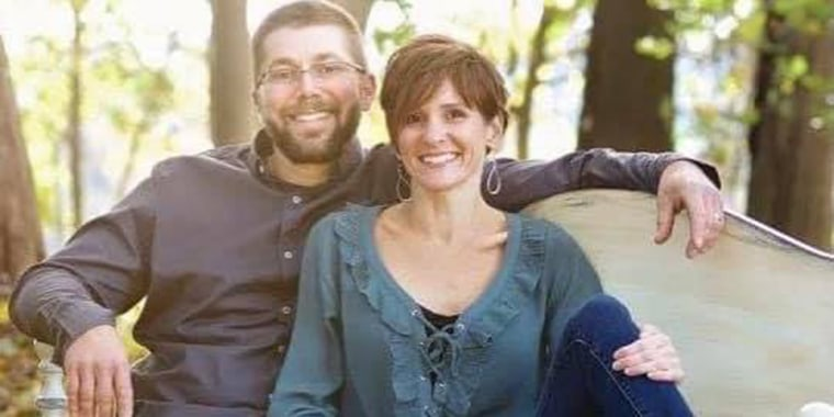 Julie Eberly, a mother of six, was fatally shot in a road rage incident in North Carolina.