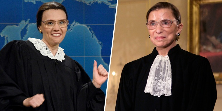 """McKinnon has played so many characters but her """"all-time"""" favorite is late Supreme Court Justice Ruth Bader Ginsburg."""