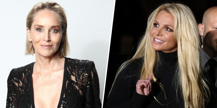 Sharon Stone revealed that Britney Spears wrote her a letter in 2007, around the time that the singer shaved her head.