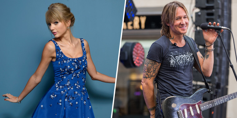 Taylor Swift apparently revealed Keith Urban as a duet partner among the bonus tracks.
