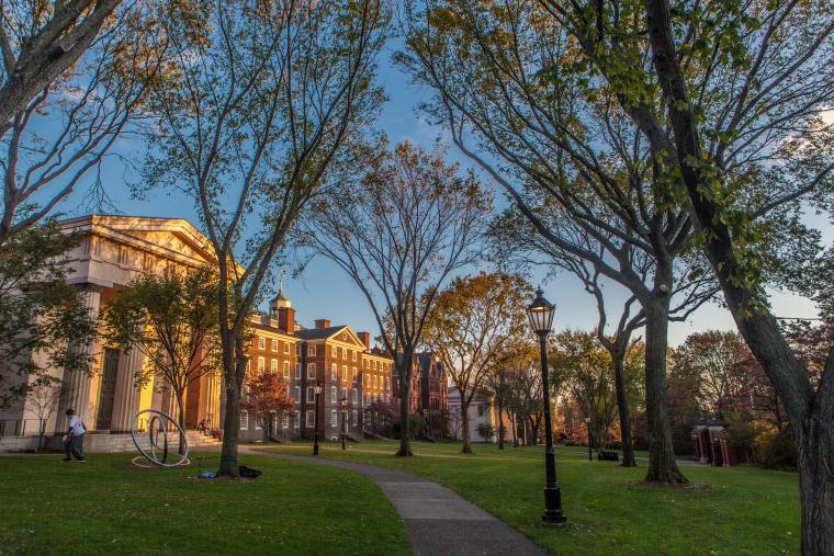 Image: Brown University campus.