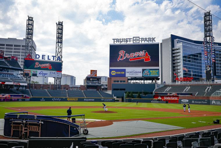 Image: Atlanta Braves Summer Workouts