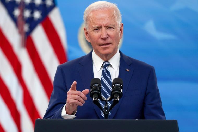 Image: President Joe Biden delivers remarks at the White House