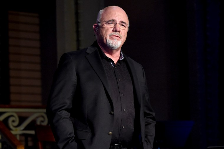 Host Dave Ramsey presents onstage at the National Radio Hall of Fame Class Of 2017 Induction Ceremony and Celebration on Nov. 2, 2017 in Chicago.