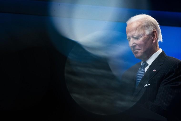 President Joe Biden at the White House complex on Jan 25, 2021.