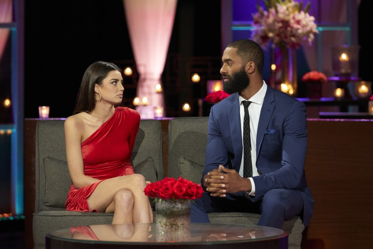 ""\""""Matt James and Rachel Kickconnell on """"The Bachelor: After the Final Rose"""" on ABC.""760|507|?|en|2|f45ff7959ae8ece38c90364a7d9efe67|False|UNSURE|0.3171842098236084